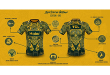 Peshawar Zalmi launches Heritage Edition Training kit ahead of Pakistan Super League Season 6