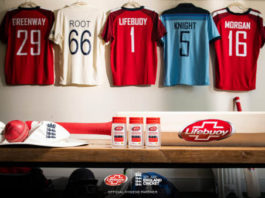ECB: Hygiene brand Lifebuoy partners with England Cricket to support a safe return of the game