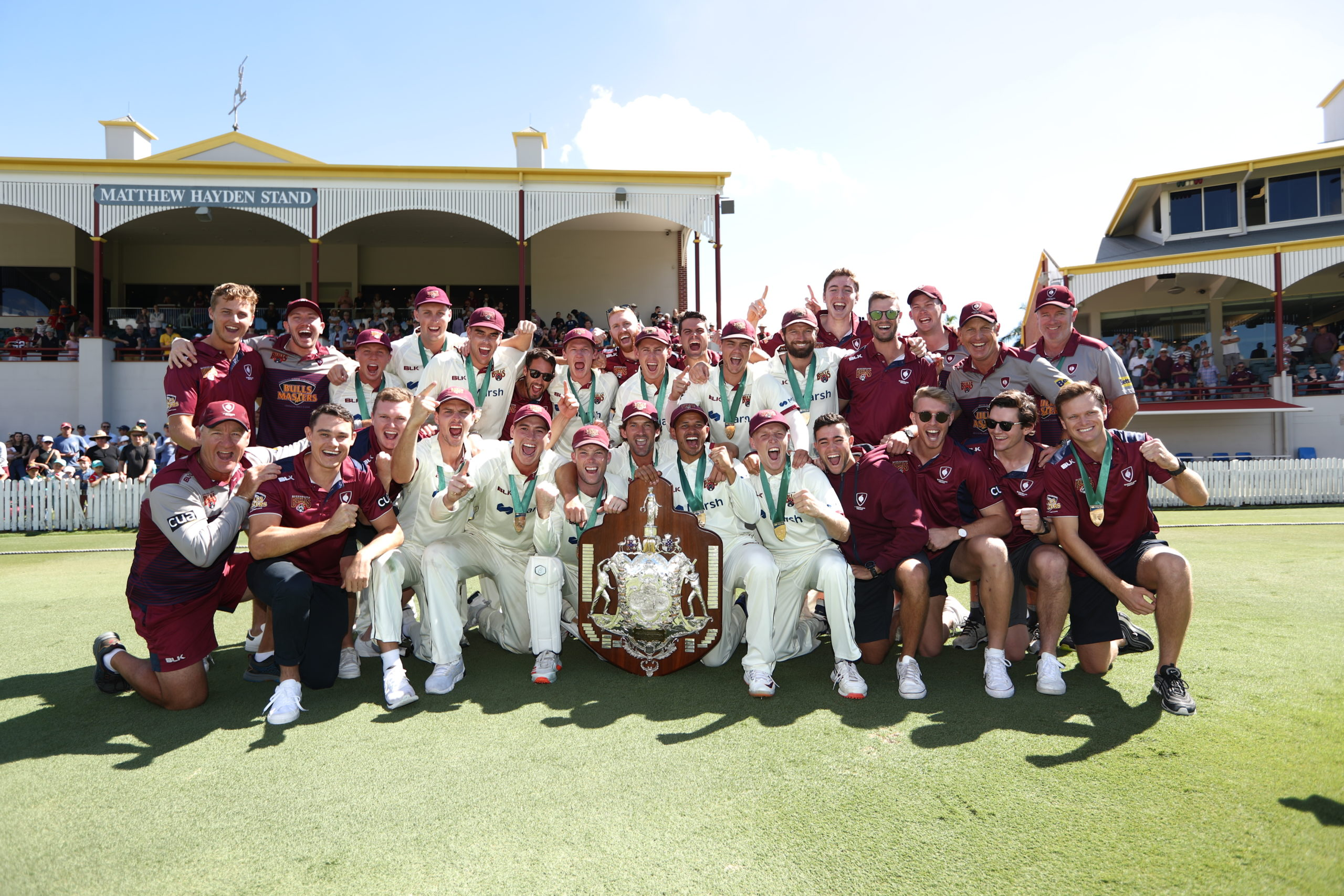 Cricket Australia: Queensland wins ninth Marsh Sheffield Shield title