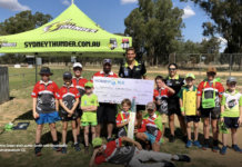 Sydney Thunder: HomeWorld continue support of grassroots cricket