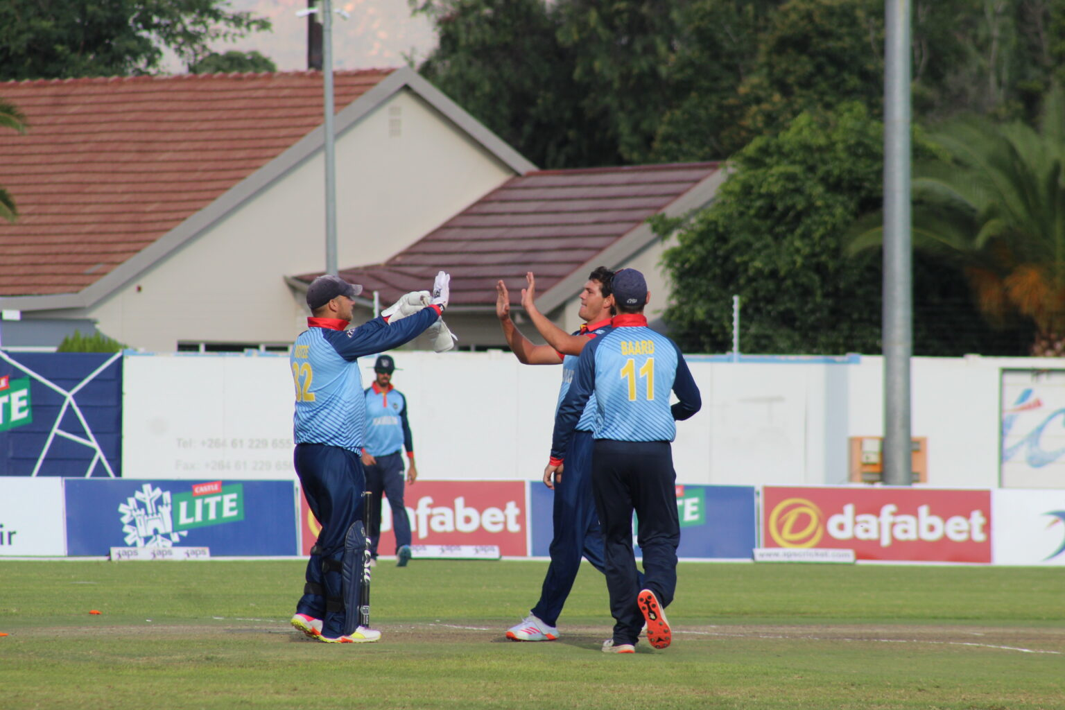 Cricket Namibia Hosts SA Emerging in Castle Lite Series