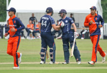 Cricket Scotland Men To Face The Netherlands In Two ODIs