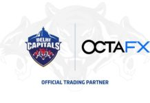 Delhi Capitals Inks Landmark Digital Content Deal with Global Brand OctaFX