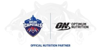 Delhi Capitals partners with Optimum Nutrition (ON)