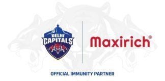 Delhi Capitals announce Cipla Health's Maxirich as Official Immunity Partner
