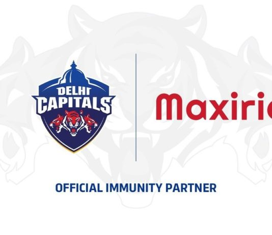 Delhi Capitals announce Cipla Health's Maxirich as Official Immunity Partner