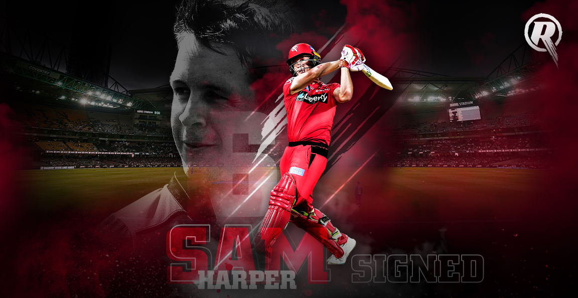 Melbourne Renegades: Harper locked in with Renegades
