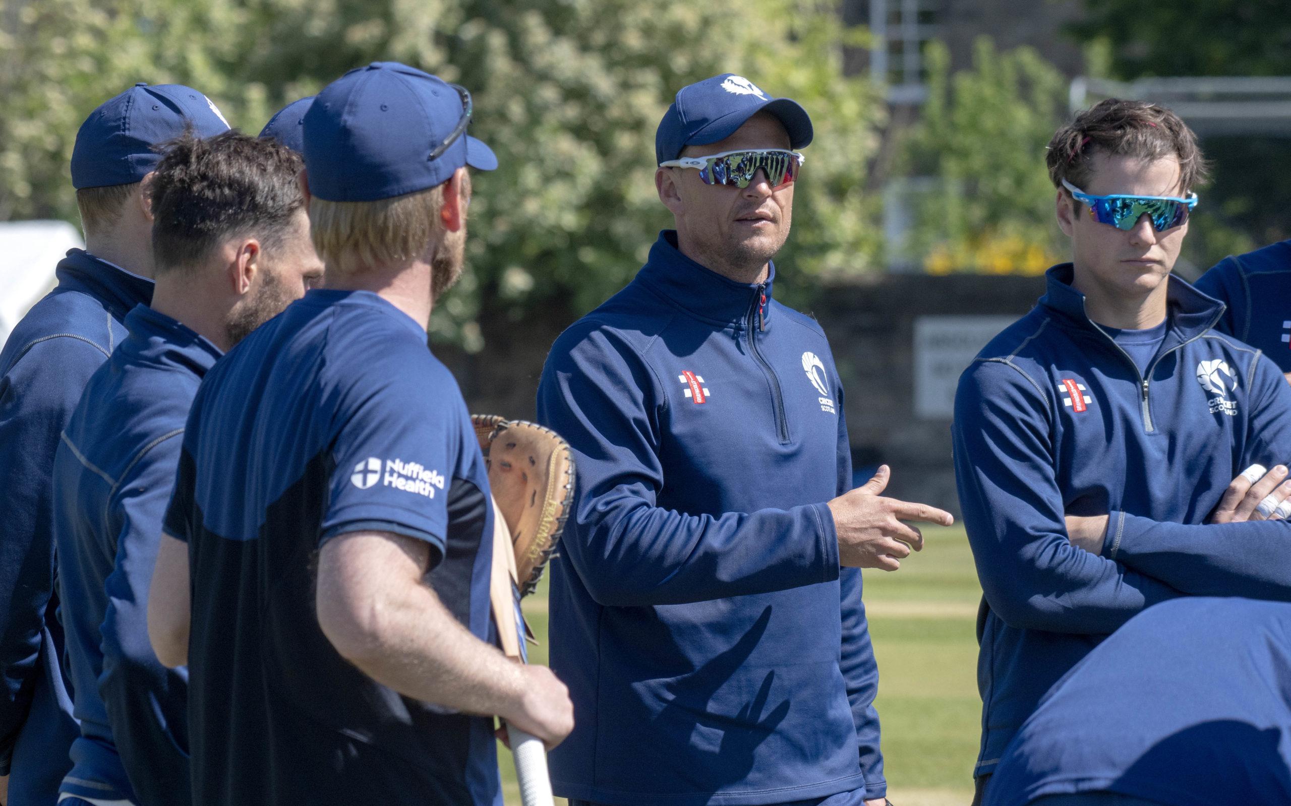 Cricket Scotland: Shane Burger - It's good to be back