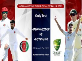 ACB: Dates confirmed for one-off Test against Australia
