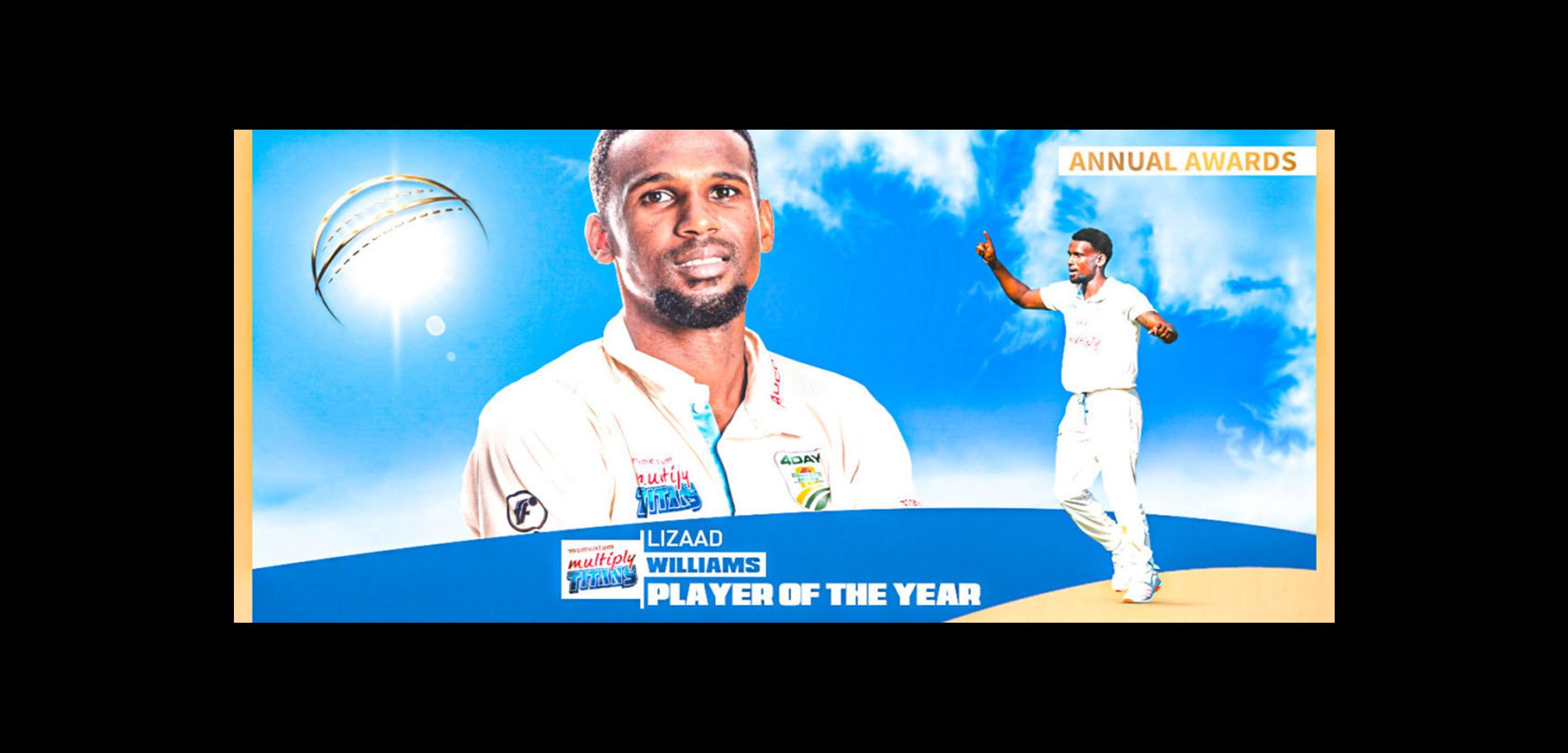 Titans Cricket: Williams wins big at Titans end of season awards function