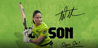 Sydney Thunder: Tahlia Wilson Signs on