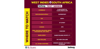 CWI: Are you ready? The Betway Test series vs South Africa bowls off in St. Lucia