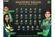 PCB: 26-player women squad announced for West Indies tour