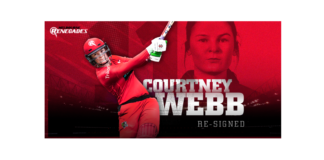 Melbourne Renegades: Webb signs new deal with Renegades