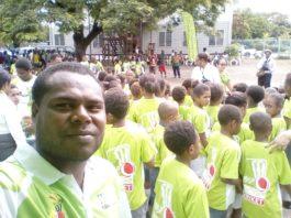 Cricket PNG: BSP School Kriket program