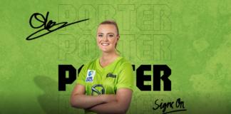 Sydney Thunder: Olivia Porter signs on