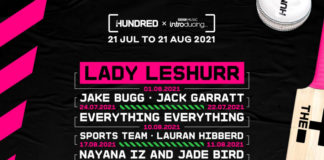 ECB: Lady Leshurr, Everything Everything and Jack Garratt announced for The Hundred, marking the biggest music & sport collaboration in UK history