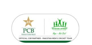 PCB renews charity partnership with Shahid Afridi Foundation