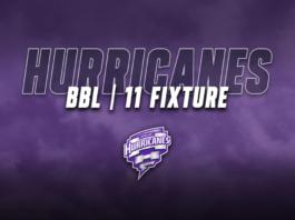 Hobart Hurricanes: BBL 11 fixture released