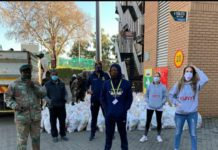 Central Gauteng Lions continued partnership With FEEDSA for Covid19 food relief programme