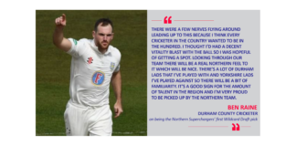 Ben Raine, Durham County Cricketer on being the Northern Superchargers' first Wildcard Draft pick