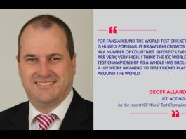 Geoff Allardice, ICC Acting CEO on the recent ICC World Test Championship
