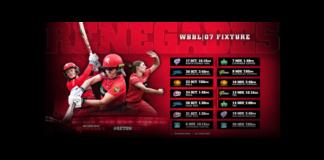 Melbourne Renegades WBBL 07 fixture announced