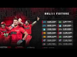 Melbourne Renegades confirm BBL 11 fixture