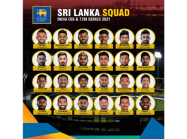 SLC: Sri Lanka squad for the limited overs series against India