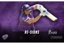 Hobart Hurricanes: Priest is back for WBBL07