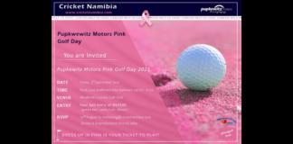 Cricket Namibia: Pupkewitz Motors Pink Golf Day
