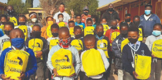 CGL: Masana and Lions Cricket give back in Kliptown