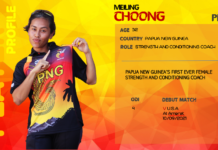Cricket PNG: Meiling Choong first female strength and conditioning coach for Kumul Petroleum PNG Barramundis