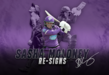 Hobart Hurricanes: Moloney commits to 'Canes for WBBL|07