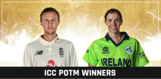 Root and Richardson voted ICC Players of the Month for August