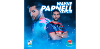 WPCA: Parnell to captain Six Gun Grill WP for T20 Knockout