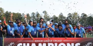 USA Cricket: MVP awards announced for 2021 Minor League Cricket season