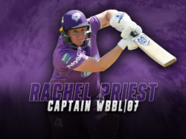 Hobart Hurricanes: Priest to lead Hurricanes for Weber WBBL|07