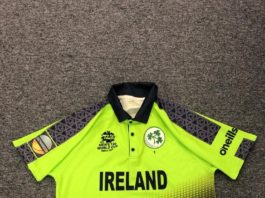 Cricket Ireland unveils new Men's T20 World Cup shirt and sponsor