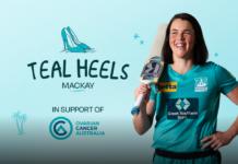 Brisbane Heat: Teal Heels is on it's way to Mackay!