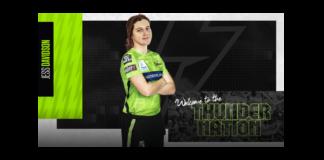 Sydney Thunder: Jess Davidson joins the Thunder Nation