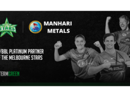 Manhari Metals makes history with the Melbourne Stars