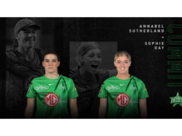 Melbourne Stars: Sutherland and Day commit to Stars
