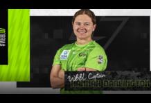 Sydney Thunder: Hannah Darlington named captain for WBBL|07