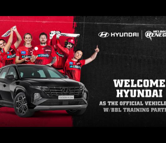 Melbourne Renegades: Hyundai to drive the Renegades forward